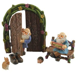 Miniature Gnome Figurines Door Starter Kit